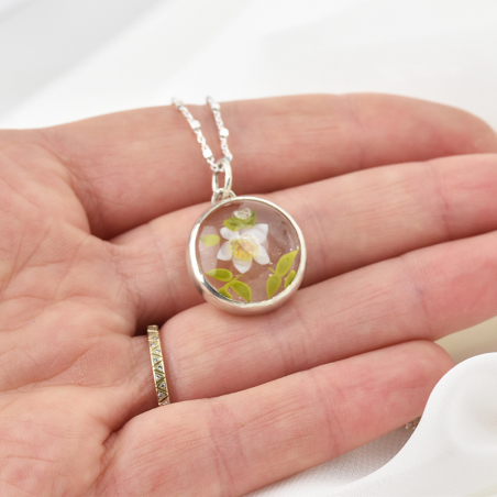 Citrus flower Aurore necklace