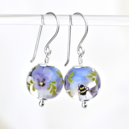 Ysée dangle earrings with...