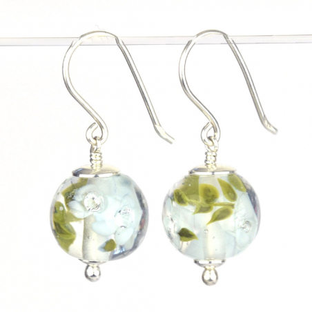 Earrings with light Sky...